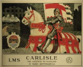 Vintage English poster - Carlisle 1924